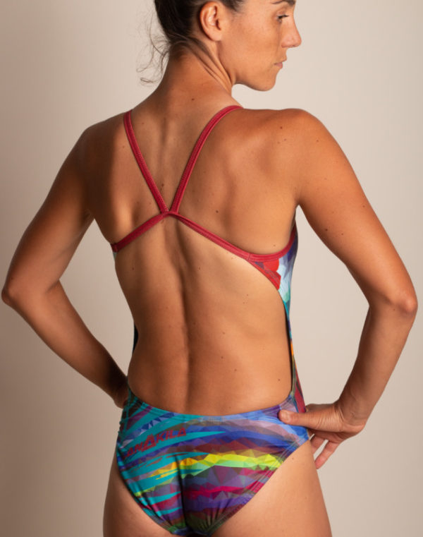 swim suit sexy back - back view