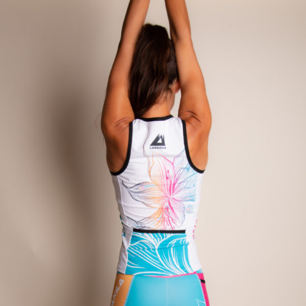 Multisport Top & Triathlon Top - Lanakila Speedy Flower
