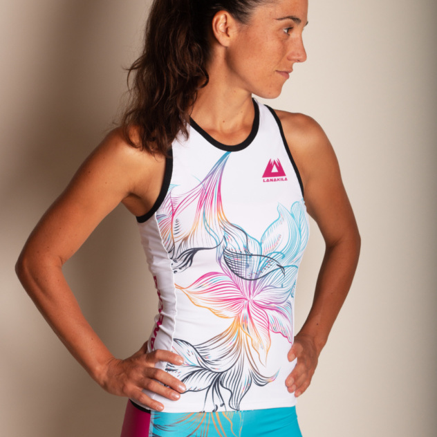 Multisport Top Speedy Flower