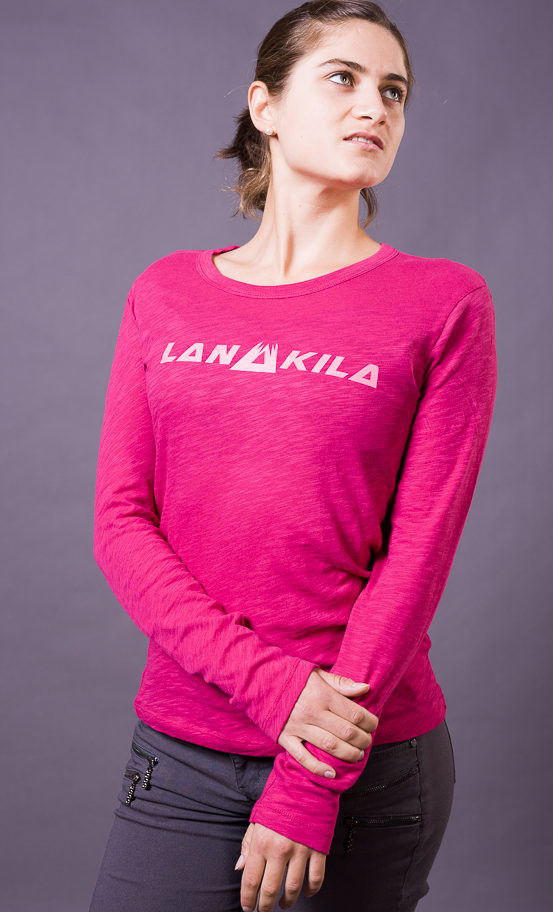 Lanakila PINK Long sleeve club tee - ganz