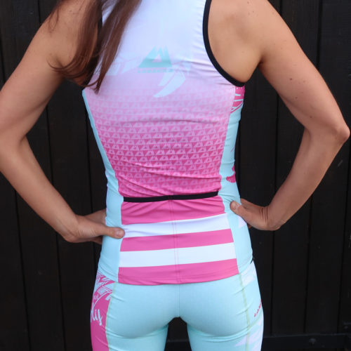Fly Triathlon Top Women back