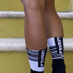 performance socks Lanakila black