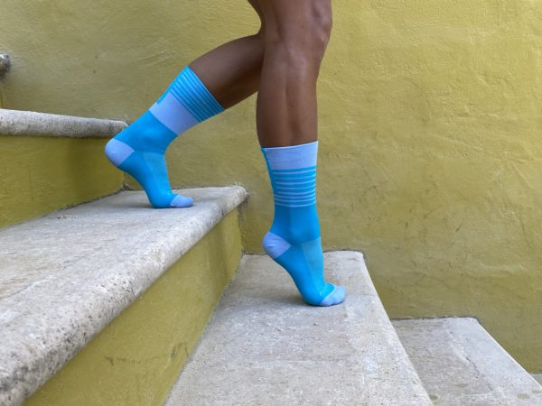 performance socks Lanakila blue