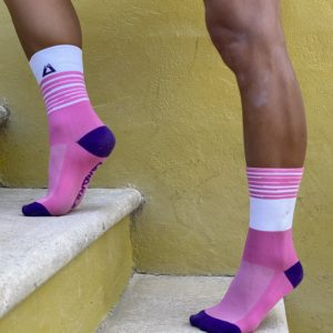 pink performance socks Lanakila