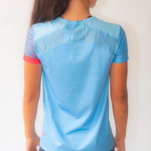 Lanakila Performance Running T-Shirt back - recycled