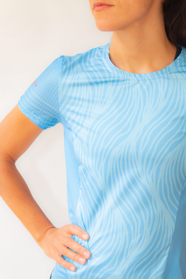 Lanakila Performance Running T-Shirt Muster - recycled