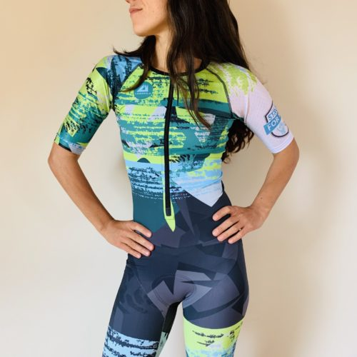 Aero Performance Triathlon WOmen Suit Be Strong For Kids