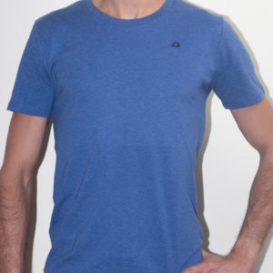 organic cotton t - blue