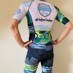 Aero Performance Triathlon Suit 2.0- Be Strong For Kids - Back