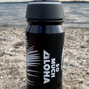 Bio- Trinkflasche So Much Aloha - LAVA BLACK