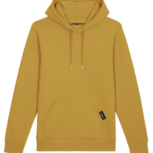Bio Hoodie front_autumn leaves