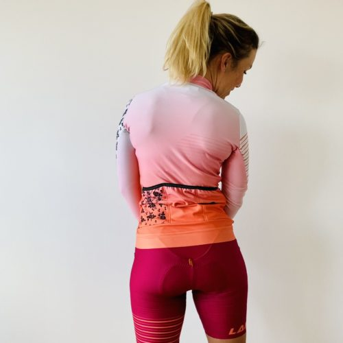 Cycling Long Sleeve back Atrevete